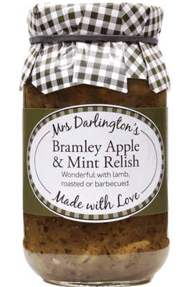 Mrs Darlington's Bramley Apple & Mint Relish 312g