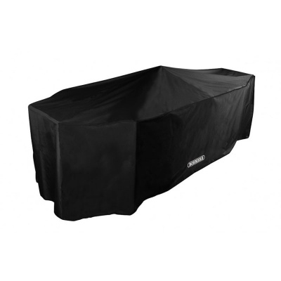 Bosmere Storm Black 8 Seater Rectangular Patio Set Cover (D535)