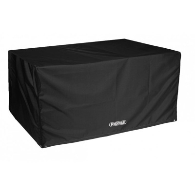 Bosmere Storm Black 8 Seater Rectangular Patio Table Cover (D560)