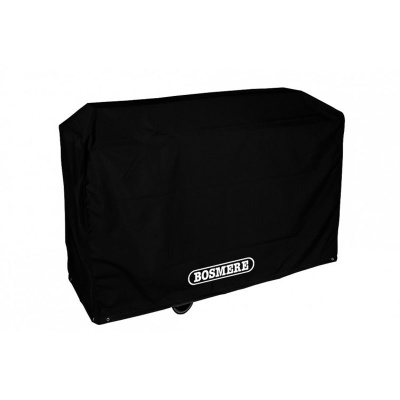 Bosmere Storm Black Trolley BBQ Cover (D710)