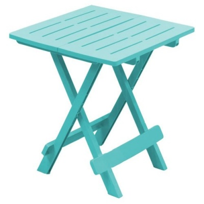Adige Folding Occasional Table - Turquoise