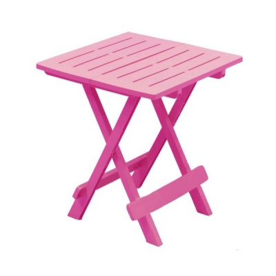 Adige Folding Occasional Table - Pink