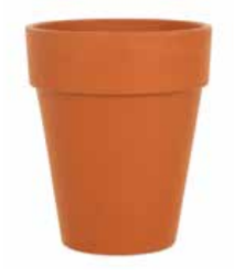 Woodlodge Long Tom Pot 12cm