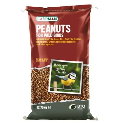 Gardman Peanuts For Wild Birds 12.75kg