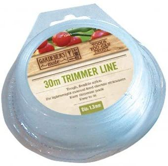 Gardman 1.3mmx30M Trimmer Line White