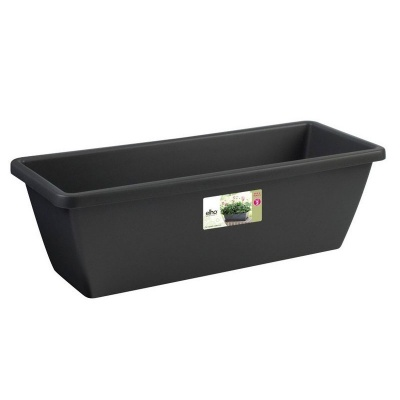 Elho Barcelona Trough Planter 50cm - Anthracite