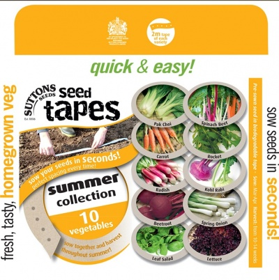 Suttons Seed Tapes - Summer Collection