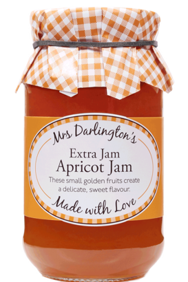 Mrs Darlington's Apricot Jam With Extra Jam 340g