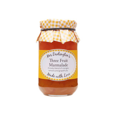 Mrs Darlington's Three Fruit Marmalade 340g
