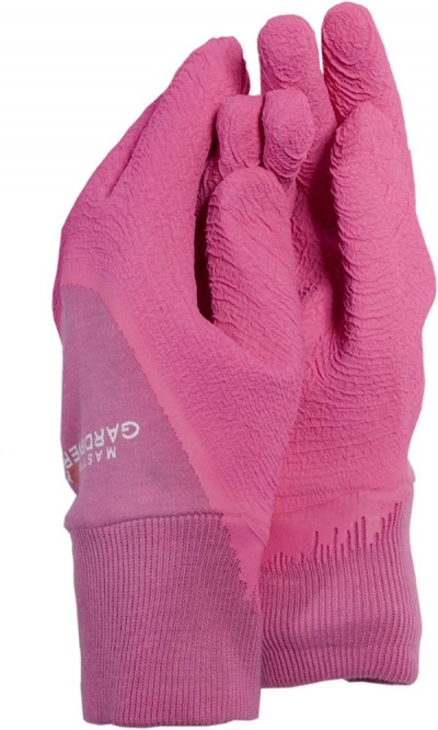 Town & Country Master Gardener Pink Ladies Gloves Medium
