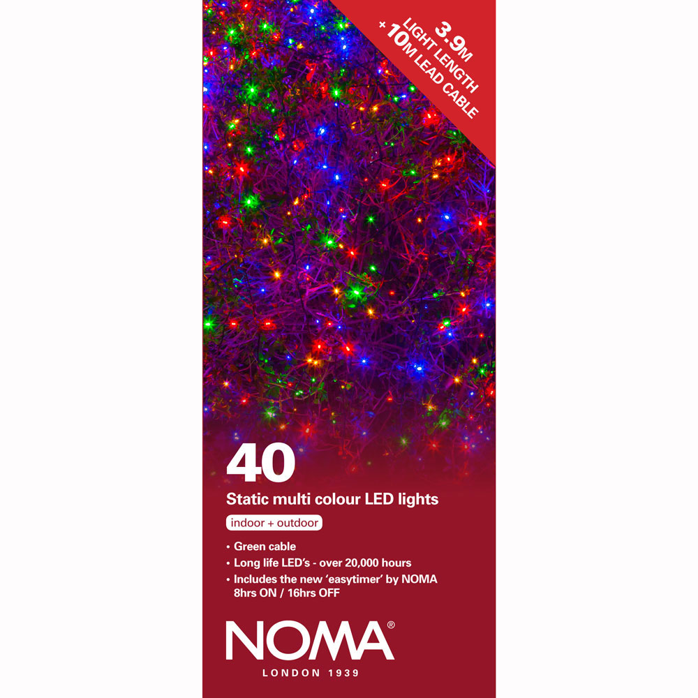 Noma Led Shop Light Review: Noma® 40 Multi Colour LED Static Decorative Lights