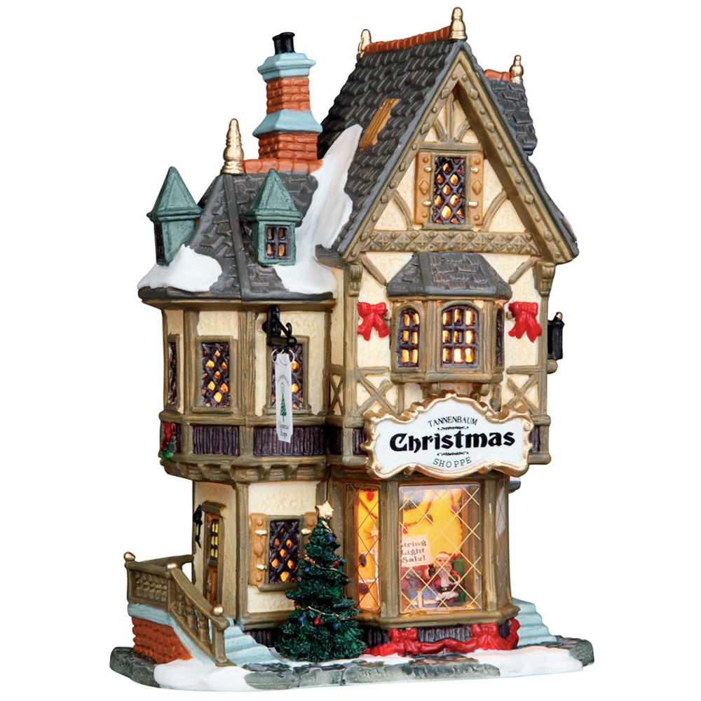 Lemax Tannenbaum Christmas Shoppe Lighted Building