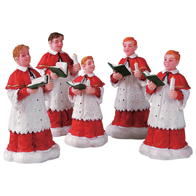 Lemax Christmas.Lemax The Choir Figurines Set Of 5 52038