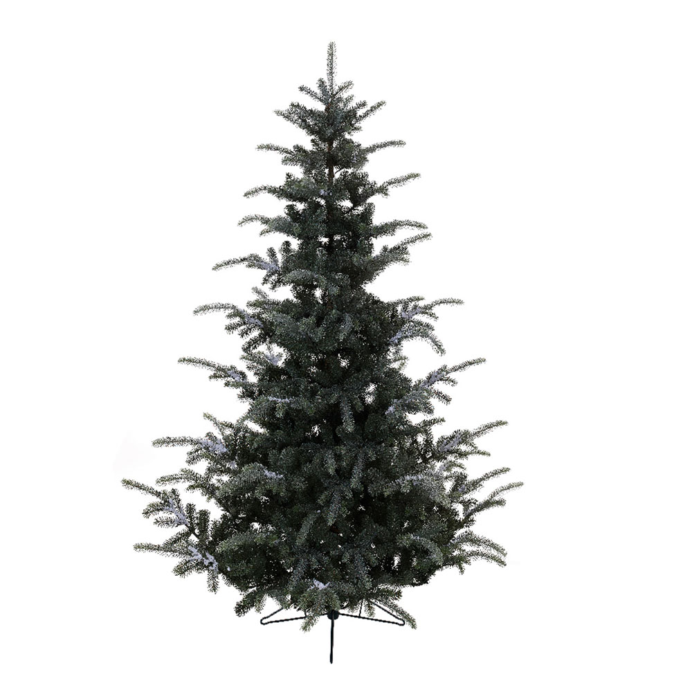 Kaemingk Everlands Frosted Omorika Fir 7ft (2.1m) Christmas Tree ...