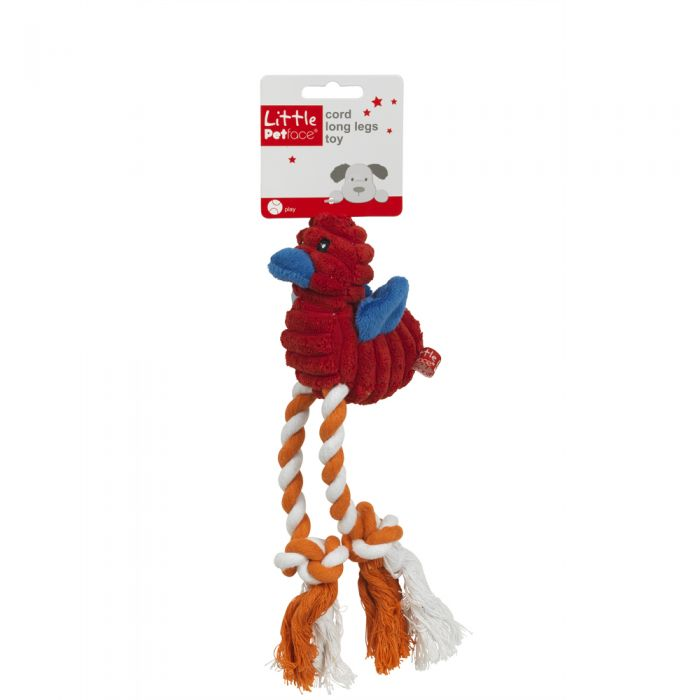 PetFace Little PetFace Cord Long Legs Dog Toy - Bosworths ...
