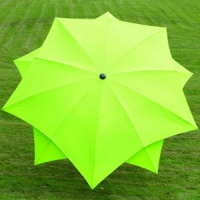 Norfolk Leisure Lotus Parasol 2.7m - Lime Green