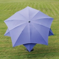 Norfolk Leisure Lotus Parasol 2.7m - Purple