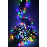 Noma® Multi-Effect Cluster Lights 720 Multi Colour LEDs / Green Cable (2515017GM)