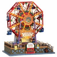 Lemax Victorian Flyers Ferris Wheel - Sights & Sounds Table Piece (34618)