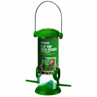 Gardman Filled Flip Top Seed Mix Feeder (A02237)