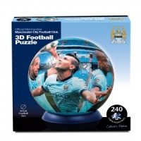 3D Puzzle Ball 'Man City' Football Jigsaw Puzzle 240pcs