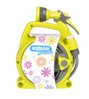 Hozelock Seasons Pico Reel and Spray Gun Set - LIME GREEN - 2425