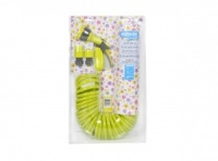 Hozelock Seasons Spiral Hose Set - LIME GREEN - 6800