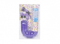 Hozelock Seasons Spiral Hose Set - PURPLE - 6800