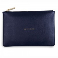 Katie Loxton 'One In A Million' Clutch Bag - Navy (KLB005)
