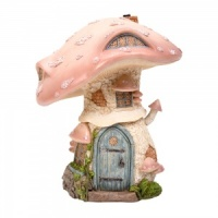 Miniature World® Pastel Pink Toadstool Cottage (MW01-003)
