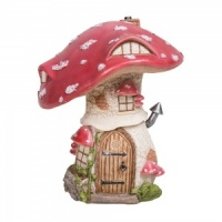 Miniature World® Traditional Red Toadstool Cottage (MW01-004)
