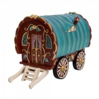Miniature World® Red Gypsy Caravan (MW01-010)