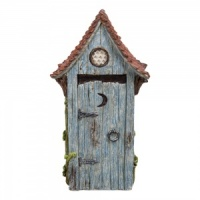 Miniature World® Outhouse Blue Door (MW02-001)