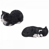 Miniature World® Black & White Cats Twin Pack (MW04-005)