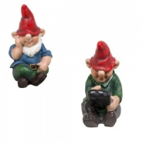 Miniature World® Sitting Gnome Twin Pack (MW05-001)