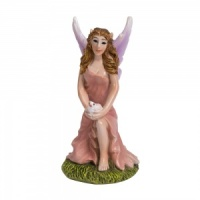 Miniature World® Pink Kneeling Fairy (MW05-011)