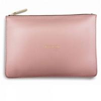 Katie Loxton 'Pretty In Pink' Clutch Bag - Pale Pink (KLB002)