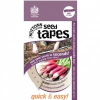Suttons Seed Tapes  - Radish French Breakfast 3
