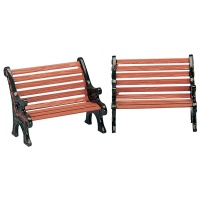 Lemax Park Bench - Accessory - Set of 2 (34895)