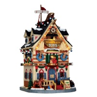 Lemax Noah's Ark Toys - Lighted Building (65130)