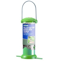 Gardman Filled Flip Top Nyger Seed Feeder (A02238)