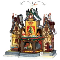 Lemax Holiday Hamlet Christmas Shoppe - Sights & Sounds - Table Piece (55026)