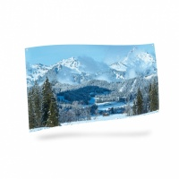 MyVillage™ Winter Scene  Backdrop Cloth 150 x 75cm (MYP14)