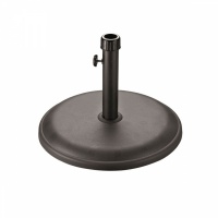 Glendale Leisure Stone Parasol Base - 25kg Black