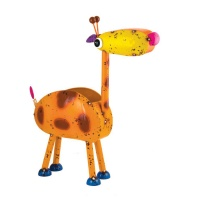 Fountasia Georgie The Giraffe Metal Garden Planter