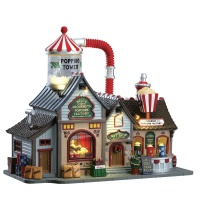 Lemax Bell's Gourmet Popcorn Factory - Sights & Sounds - Table Piece (75188)