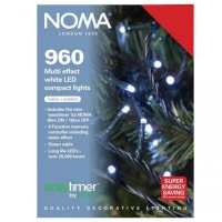 Noma 960 Compact LED Lights White - Green Cable