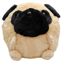 Cozy Time Pug Giant Hand Warmer & Comforter