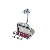 MyVillage™ Jaegerndorfer Single Ski Lift Gondola Model Red/Grey (JC86200)