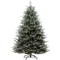 Kaemingk Everlands Frosted Oxford Spruce 6ft (1.8m) Christmas Tree (689731)